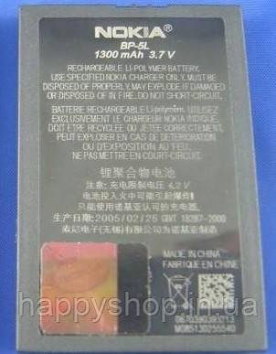 Оригинальная батарея Nokia BP-5L, фото 2