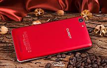 "Смартфон Cubot Rainbow Red, 1/16Gb, 8/5Gb, 4 ядра, 2sim, экран 5"" IPS, GPS, 3G, Android 6.0"