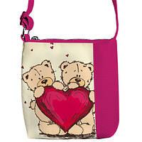 Детская сумка для девочки Тедди. кожзам