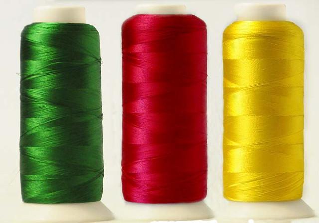 Нитки вышивальные шелковые