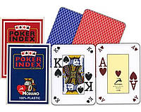 Карты игральные пластиковые «Poker Index» №25395-33
