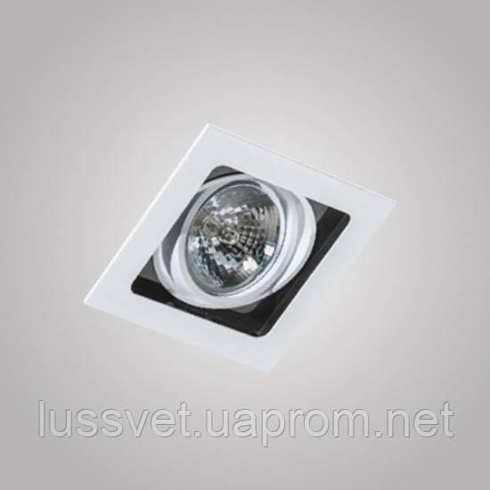 Встраиваемый светильник Azzardo GM2109 WH/ BL SISTO