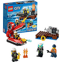Конструктор LEGO City Набор для начинающих Пожарная охрана 60106