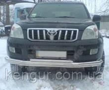 Кенгурятник на Toyota Land Cruiser Prado 120