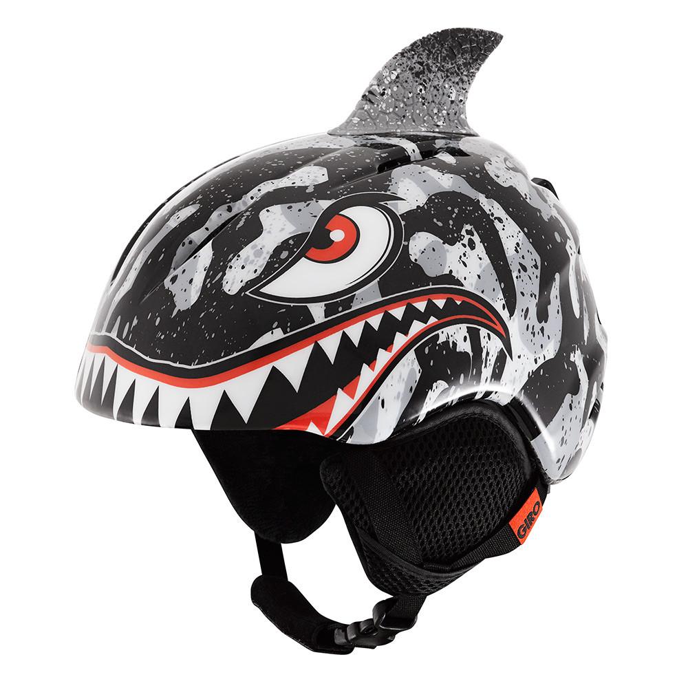 Горнолыжный шлем Giro Launch Plus, чёрный-серый Tiger Shark (GT)