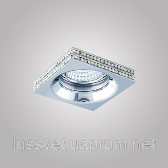 Встраиваемый светильник Azzardo NC1519SQ-CH EVA S