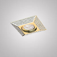 Встраиваемый светильник Azzardo NC1674SQ-G PIRAMIDE L
