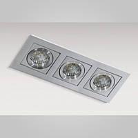 Вбудований світильник Azzardo gm2301_alu Paco