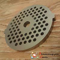 Решетка (сетка) для мясорубки Shivaki мелкая Ø54мм с ушками, фото 1