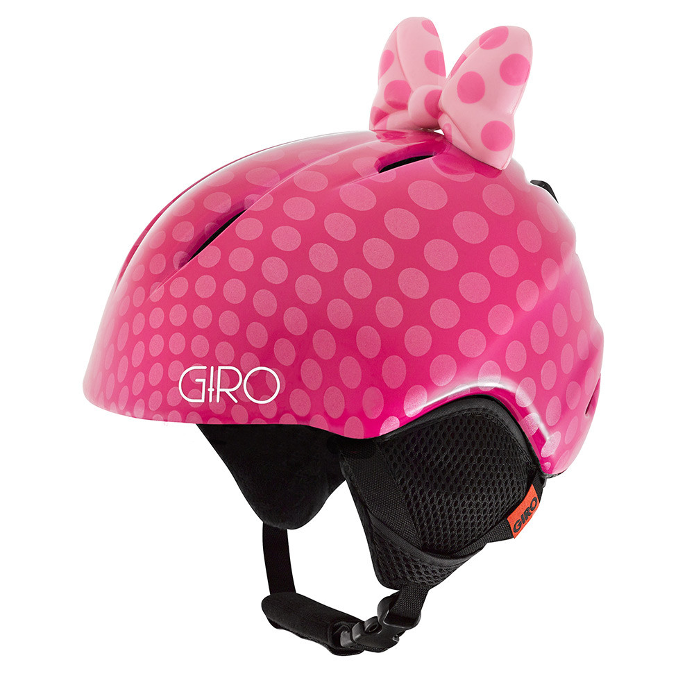 Горнолыжный шлем Giro Launch Plus, розовый Bow Polka Dots (GT)