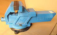 Тиски слесарные чугунные поворотные ТСЧ-150 150мм. Тиски