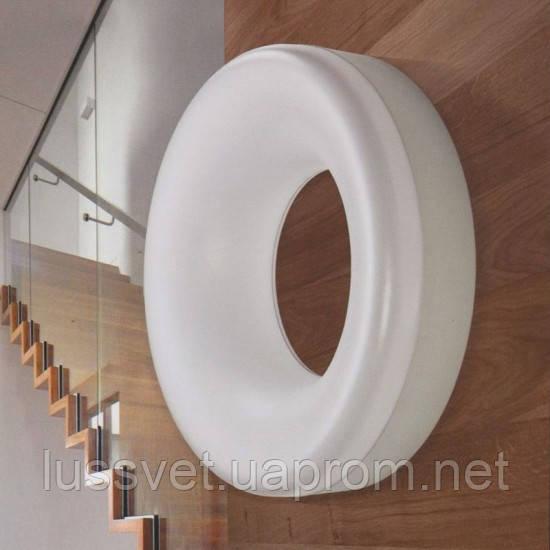 Настінно-стельовий світильник Azzardo lc2310-1c white Ring