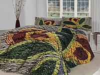 Комплект постельного белья First choice  3D сатин RITA Двуспальный Евро Орнамент