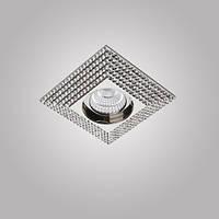 Встраиваемый светильник Azzardo NC1673SQ-CH PIRAMIDE XL