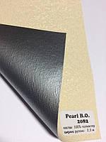 Шторы рулонные блэкаут Перла беж, фото 1