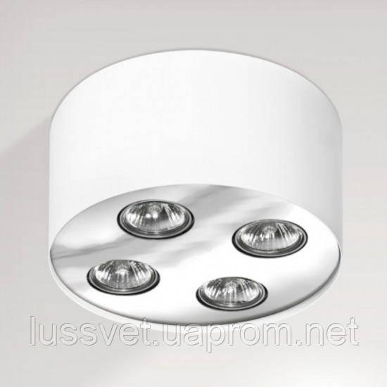Накладний світильник Azzardo fh31434b white chrome Neos