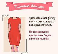 Подбираем платье под фигуру.....