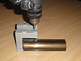 Кондуктор для сверления отверстий в вертикальном профиле раздвижной системы шкафов купе, фото 2