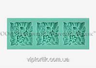 Силіконовий молд - Квіткове асорті №1 - 3х3 см