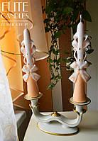 Две свадебные свечей на церемонию семейного очага