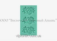Силіконовий молд - Квіткове асорті №2 - 4х2,5 см