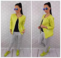 Женская лимонная курта
