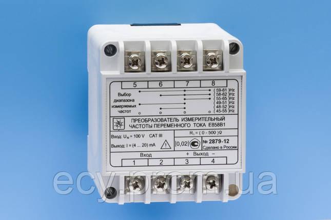 E858 Преобразователь измерительный частоты переменного тока, фото 2