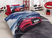 Комплект постельного белья First choice  3D бамбук ANGLE Полуторный Транспорт