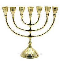 Подсвечник Минора бронзовый на 7 свечей