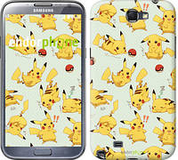 "Чехол на Samsung Galaxy Note 2 N7100 Pikachu pokemon go ""3769c-17"""