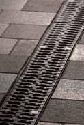 Решетка с прорезями 50см., D400, чугун, для каналов V 100 крепления DRAINLOCK