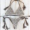 Женский раздельный купальник на завязочках. Ку-14 , фото 2