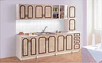 Кухня Альбина 2 метра с пеналом