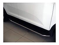 Боковые пороги (площадка) Toyota Land Cruiser 200
