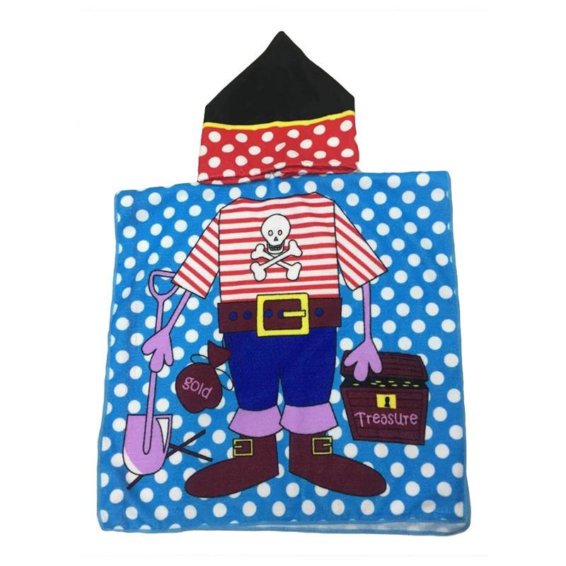 Полотенце-пончо детское