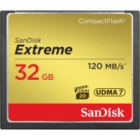 Карта памяти SANDISK CF 32GB Extreme R120/W85MB/s // 6233815