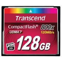 Карта памяти TRANSCEND Compact Flash 128 GB (800X) // 6229567