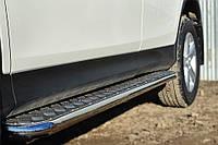 Боковые пороги (площадка) Toyota Rav-4 2013