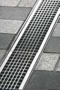 Решетка ячеистая 100см., D400, нержавеющая сталь, для каналов V 100 крепления DRAINLOCK