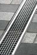 Решетка ячеистая 100см., D400, оцинкованная сталь, для каналов V 100 крепления DRAINLOCK