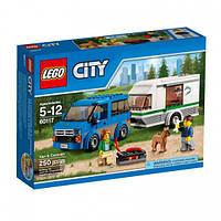 Конструктор LEGO 60117 ФУРГОН И ДОМ НА КОЛЁСАХ Лего city Распродажа
