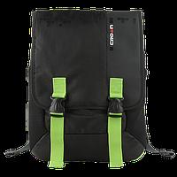 Рюкзак для ноутбука 15,6 Crown BPH-3315BG серия Harmony черный с зеленым