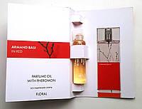 """Парфюмерное масло Armand Basi """"In Red"""" 5 мл духи с феромонами для женщин"""