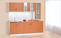 Кухня Венера Ольха 2 метра с пеналом