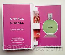 Парфюмерное масло Chanel Chance Eau Fraiche 5 мл духи с феромонами для женщин
