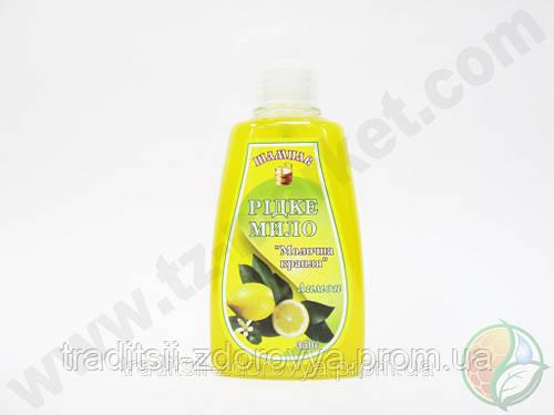 """Жидкое мыло """"Молочная капля"""" лимон"""