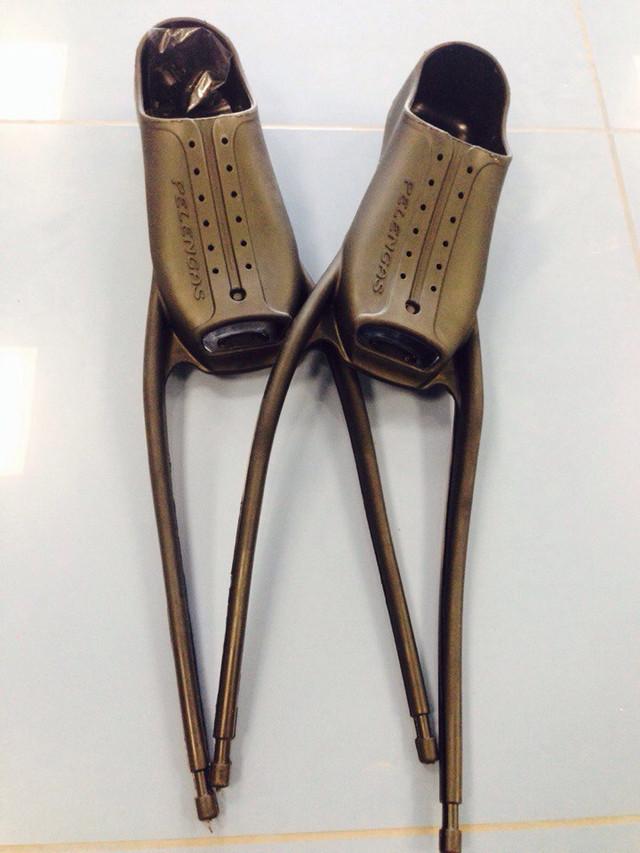 Калоши Pelengas размер 46/48 под шнуровку для ласт под разную толщину носка (пара)