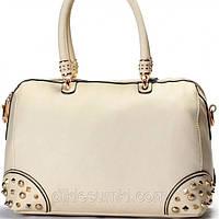 Женская сумка Gilda Tohetti бежевая