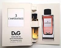 "Парфюмерное масло Dolce & Gabbana ""3 L'imperatrice"" 5 мл, духи с феромонами для женщин"