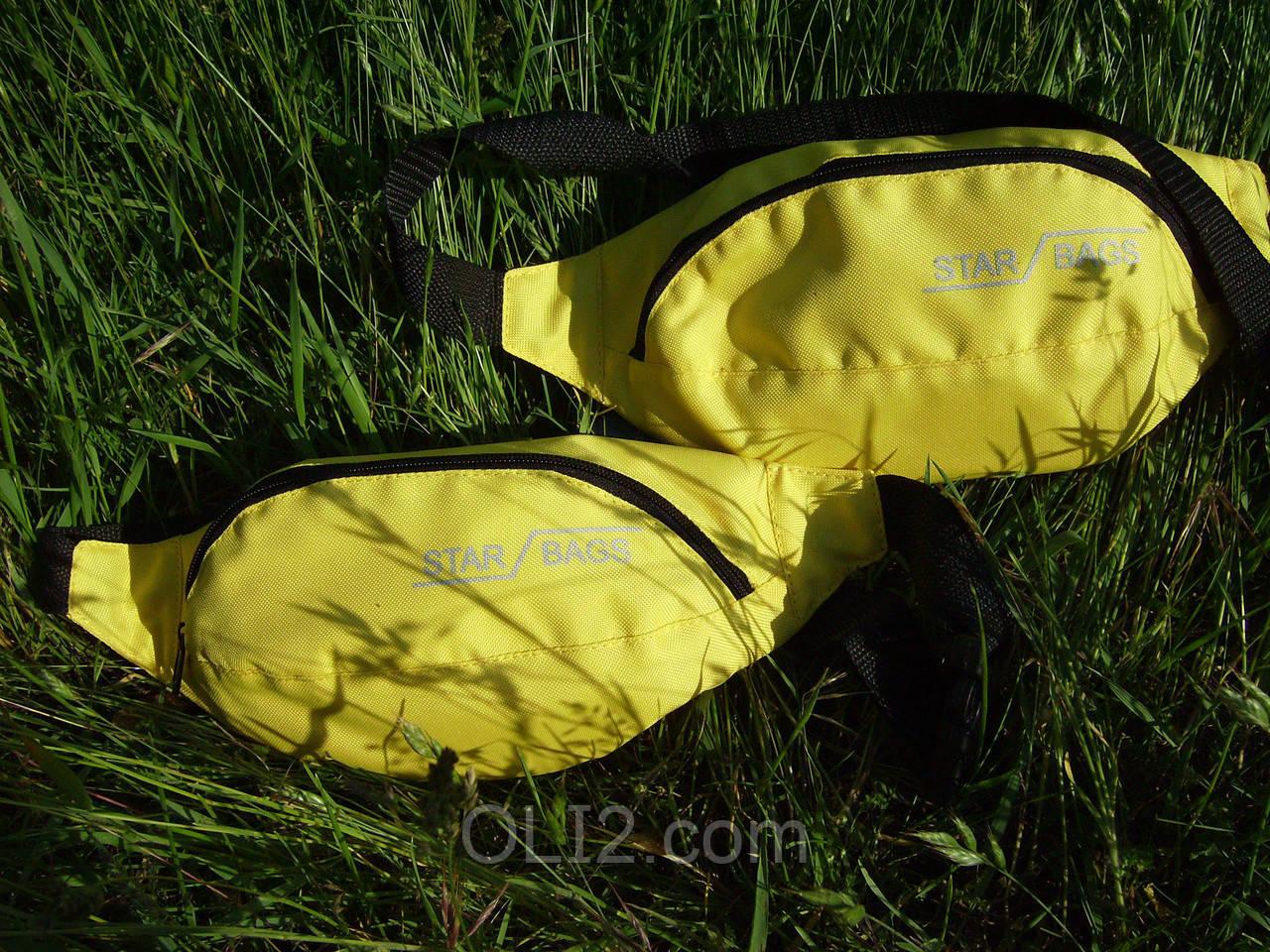 Поясная сумка бананка STAR BAGS